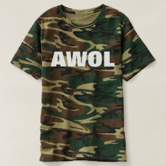 AWOL (WHITE TEXT) T-Shirt