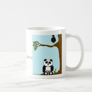"""Awww...Sad panda"" gets pooped on by a bird coffee Coffee Mug"