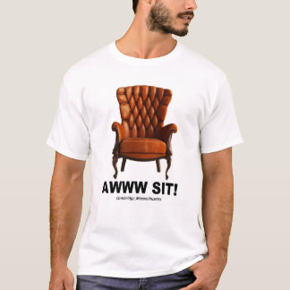 Awww Sit Cambridge Massachusetts Tee