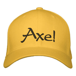 Axe! Embroidered Hats