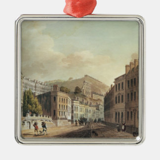 Axford and Paragon Buildings from 'Bath Christmas Ornament