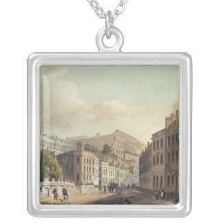 Axford and Paragon Buildings from 'Bath Silver Plated Necklace