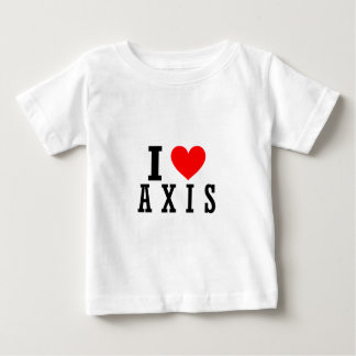 Axis, Alabama City Design Baby T-Shirt