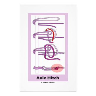Axle Hitch Personalized Stationery