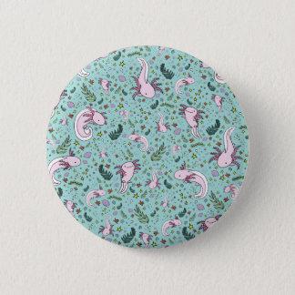 Axolotl 6 Cm Round Badge