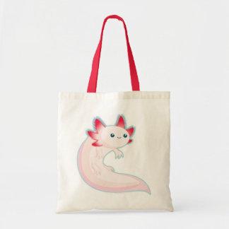 Axolotl Budget Tote Bag
