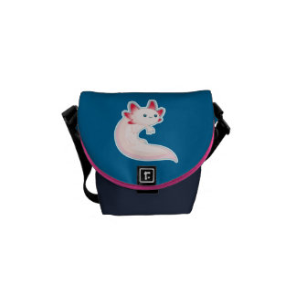 Axolotl Courier Bag