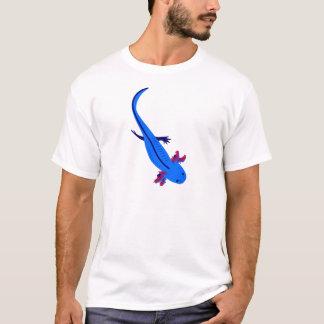 Axolotl from above blue T-Shirt