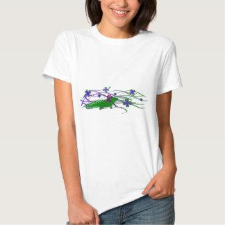Axolotl green in the luck tshirts
