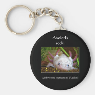 Axolotl Key Ring