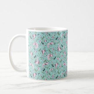 Axolotl Mug, Blue Coffee Mug