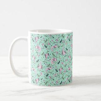Axolotl Mug, Green Coffee Mug