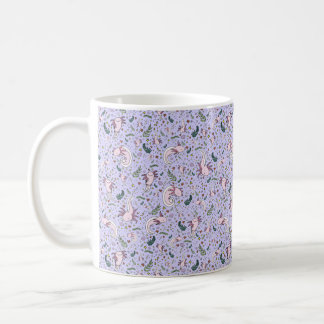 Axolotl Mug, Purple Coffee Mug