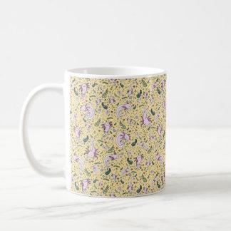 Axolotl Mug, Yellow Coffee Mug
