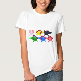 Axolotl sample frontal tshirt