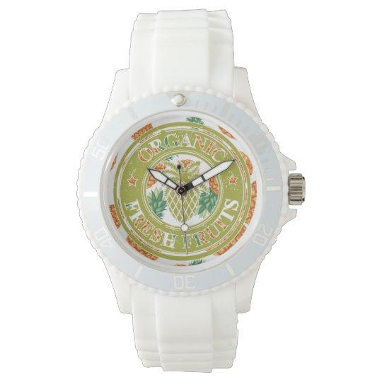 Aya clock Pineapple Prints Exclusive Watch