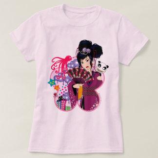 Ayaka in Harajuku Town T-Shirt