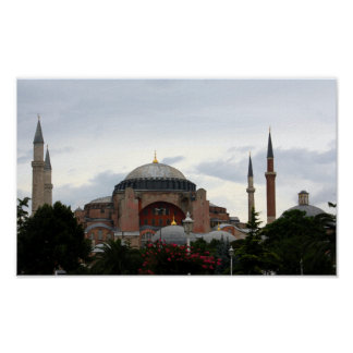 Ayasofya Museum in Istanbul Poster