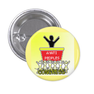Ayati Peoples Congress Party 3 Cm Round Badge