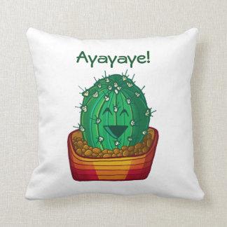 Ayayaye Cactus Pillow 1