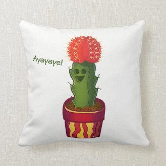 Ayayaye Cactus Pillow 2