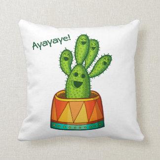 Ayayaye Cactus Pillow 5