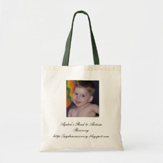 Aydans Recovery Photo, Aydan's Road to Autism R... Tote Bag