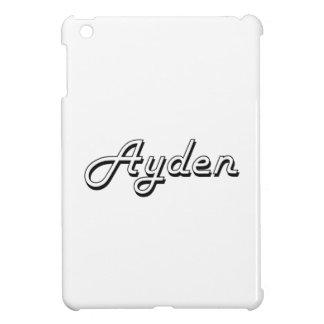 Ayden Classic Retro Name Design Cover For The iPad Mini
