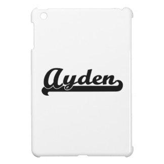 Ayden Classic Retro Name Design iPad Mini Cases
