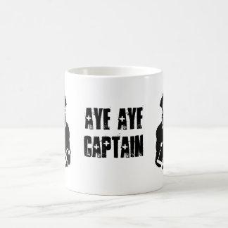 Aye aye captain Cup Morphing Mug