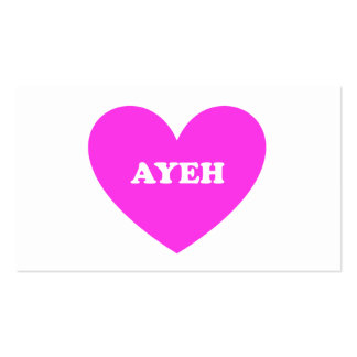 Ayeh Business Card