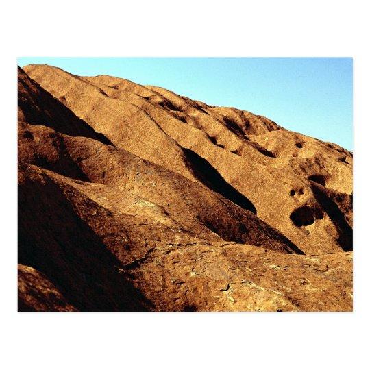Ayers Rock, Uluru National Park, Australia Postcard