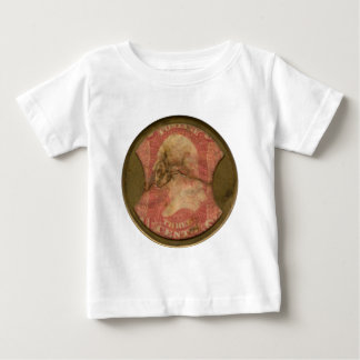 Ayers Three-Cent Enclosed Postage Baby T-Shirt