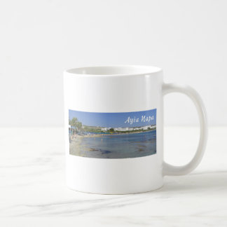 Ayia Napa Beach Coffee Mug
