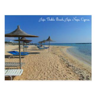 Ayia Thekla beach Postcard