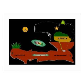 Ayiti 1804 2004 postcard