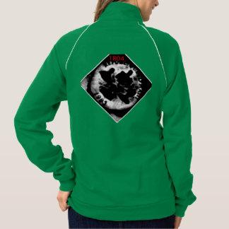 AYITI CHERI HAITI HONEY MandyMonumental DESIGN Printed Jackets