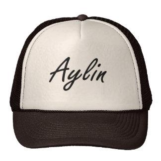Aylin artistic Name Design Cap