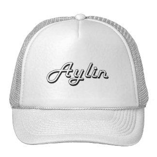 Aylin Classic Retro Name Design Trucker Hat