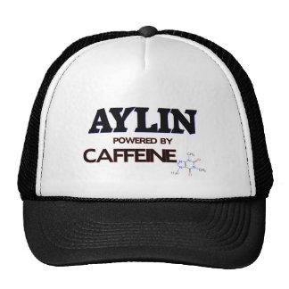 Aylin powered by caffeine trucker hat