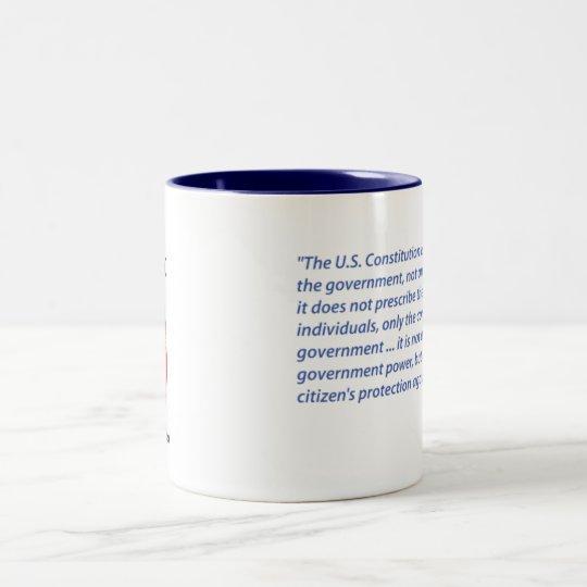 Ayn Rand quote coffee mug