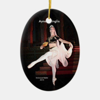 Aynsley La Bayadere Christmas Ornament