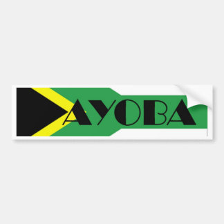 Ayoba Bumper Sticker