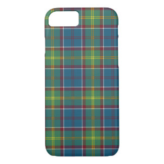 Ayrshire Scotland District Tartan Pattern iPhone 8/7 Case