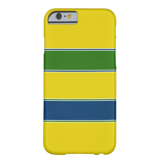 Ayrton Senna helmet design Barely There iPhone 6