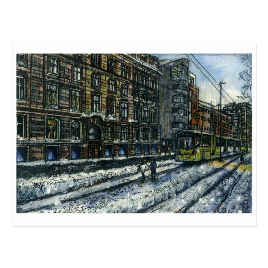 Aytoun Street, Manchester by Anthony McCarthy 2010 Postcard