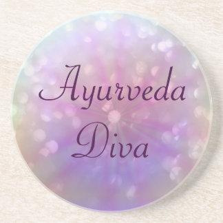 Ayurveda Diva Coasters