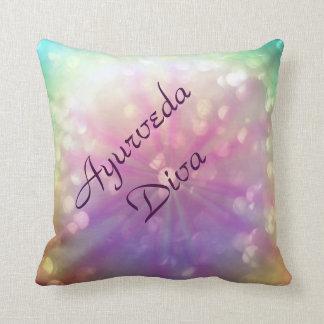 Ayurveda Diva Throw Pillow