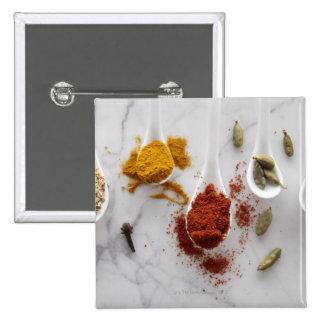 Ayurvedic Warming Spices 15 Cm Square Badge