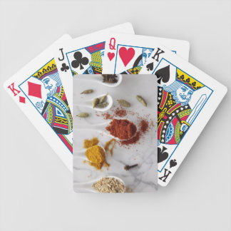 Ayurvedic Warming Spices Bicycle Playing Cards
